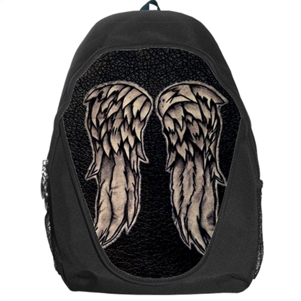 Daryl Dixon Wings the Walking Dead学校キッズバックパックバッグ B078422BKL
