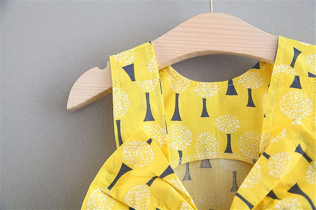 Shorts Pants Clothes Sets Toddler Baby Girl Outfits 2Pcs T-Shirt Vest Tops