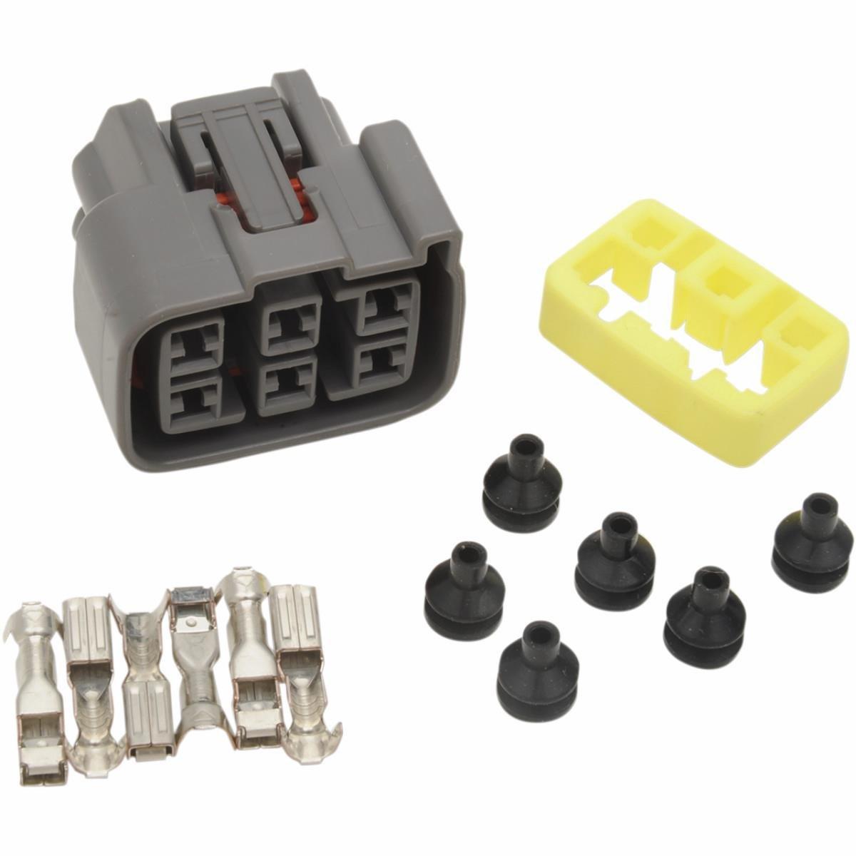 Ricks Motorsport Electric Rectifier//Regulator Wiring Harness Connector 11-114