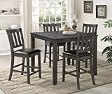 Cheap Crown Mark Cosgrove 5pc Counter Height Dining Set
