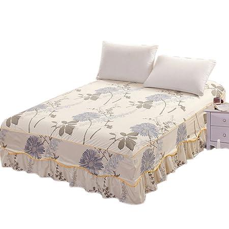 Sue Supply - Falda para Cama de 150 x 200 cm, diseño Floral ...