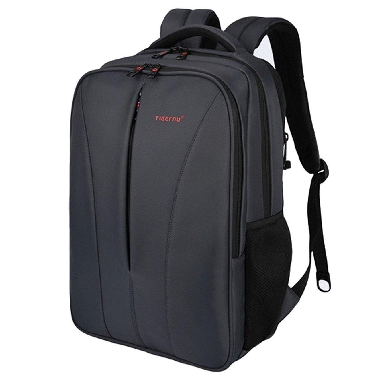 リュック メンズ ビジネス 大容量 人気 PC収納 防水 ビジネスリュックサック USBポート付 通勤 通学 出張 旅行 (ダークグレー) B0781FV4TW ダークグレー ダークグレー