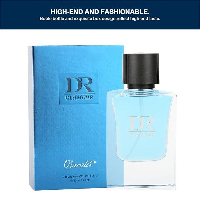 Perfume para hombre Colonia para hombre Perfume para hombre fresco y duradero Perfume para hombre Perfume de 50 ml Perfume para caballero Hombre Perfume ...