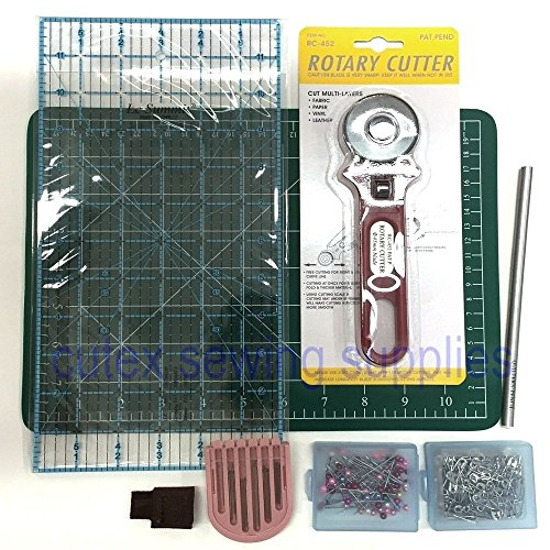 Start to Quilt Kit - 8 Pc. Sewing & Quilting Tool Set