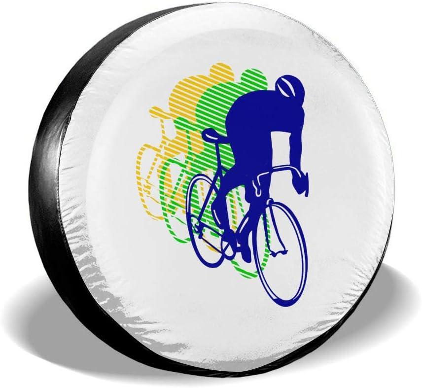 AngShen Cubierta de Rueda de Repuesto para Bicicleta de Carreras ...