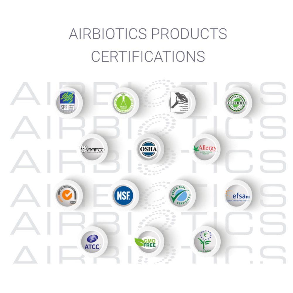 AirBiotics StaBiotics To Go Natural Beneficial Probiotics for a Safe & Stable Odor Free Environment, 2 Oz. Travel Spray by AirBiotics (Image #3)