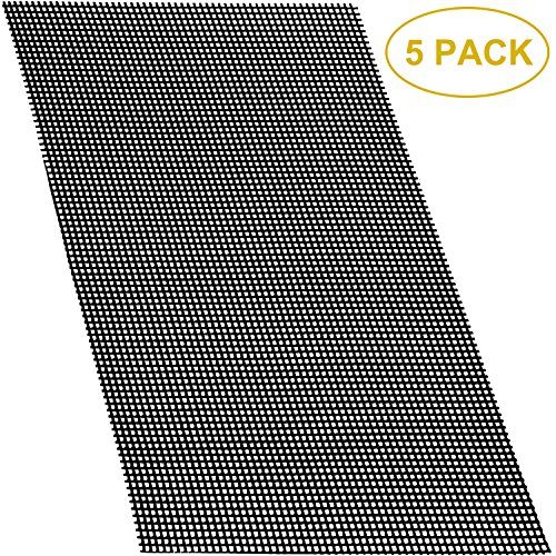 Plastic Mesh Pot - Aboat 5 Pack 30 x 20 CM Rigid Polyethylene Garden's Drainage Mesh Hole Screens