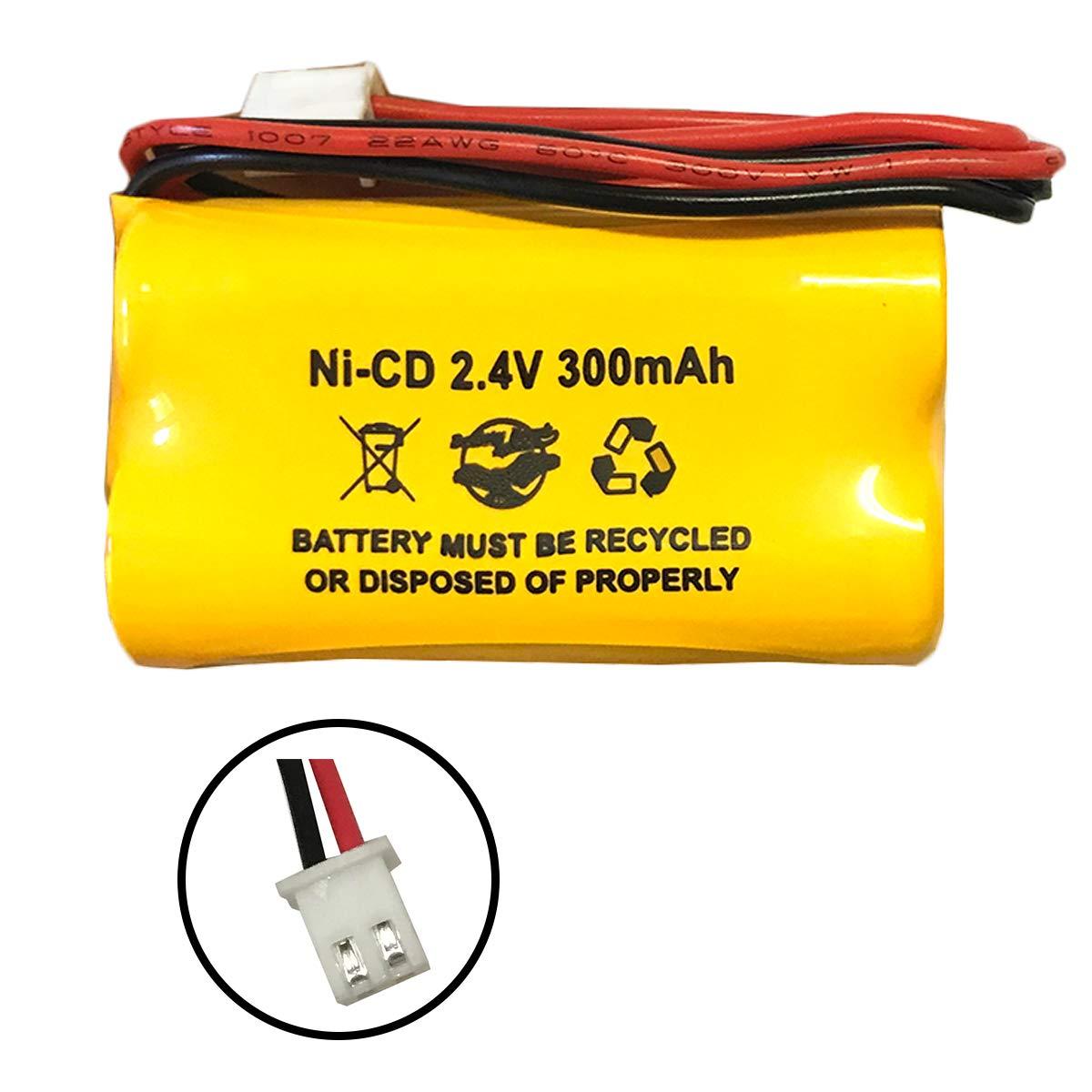 Amazon.com: Ni-CD AA300 mAh 2,4 V AA 300 mAh Ni-CD 2,4 V Ni ...