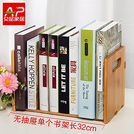 Freestanding Book Shelf Desk Top Organization Table Little Bookshelf Racksscalable Small