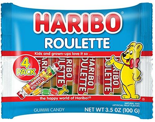 Haribo Roulette 4 pack, 15 bags (Mega Roulette)