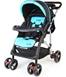 LuvLap Baby Sports Stroller and Pram (Green)
