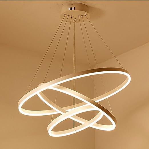 A Sospensione Soffitto Led 1 Lampada Lampadario Con Da Ring 7byYg6vf