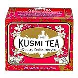 Kusmi Four Red Fruits (Quatre Fruits Rouges) Tea Bags