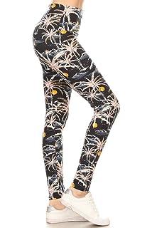 9a93d8367d Leggings Depot Yoga Waist REG/Plus Women's Buttery Soft Fashion ...