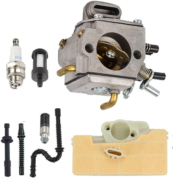 Carburetor Spark Plug Fuel Line Filter Kit For Stihl MS290 MS310 MS390 029 039