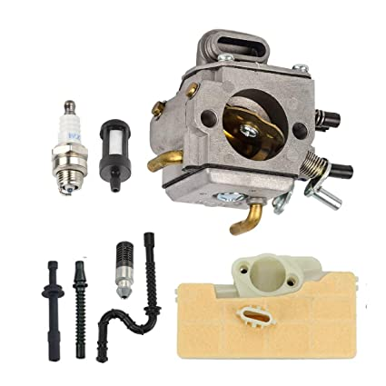 Amazon.com: Kit de carburador de motosierra para Stihl MS290 ...