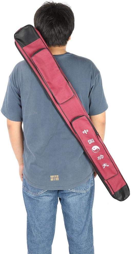 Sac d/épaule Multicouche en Toile /épaisse Multicouche VGEBY Sac d/ép/ée Sac de Transport Sac de Rangement pour /ép/ée darts Martiaux Chinois