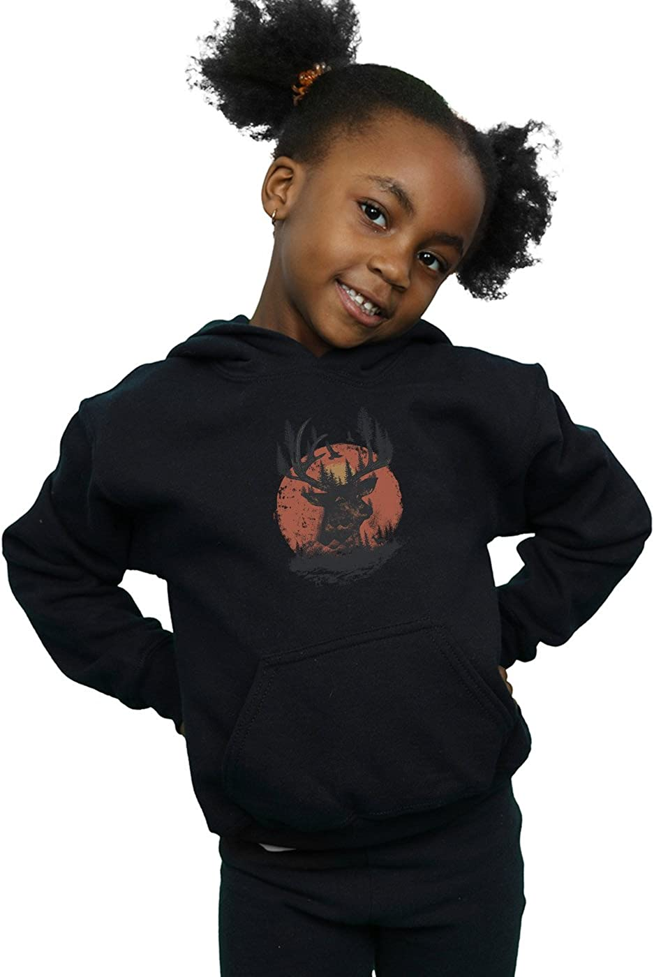 Dan Dingeroz Girls Deer Head Hoodie
