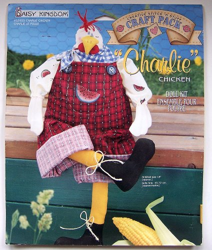 Daisy Kingdom Charlie Chicken Doll Kit for sale  Delivered anywhere in USA