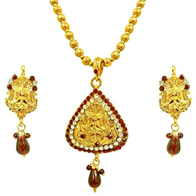 Surat diamonds red white kundan polki laxmi goddess motif fashion surat diamonds red white kundan polki laxmi goddess motif fashion jewellery set for women aloadofball Choice Image