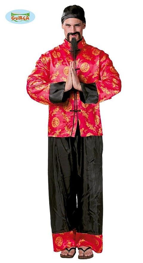 Vestito Orientale 84827 Guirca Amazon Costume Carnevale Uomo Cinese 5ttZq