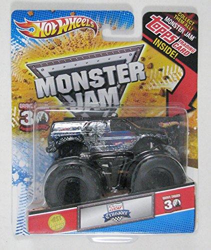 Hot Wheels Monster Jam Lucas Oil Crusader Truck 30th Anniversary Edition 1st Edition 2012
