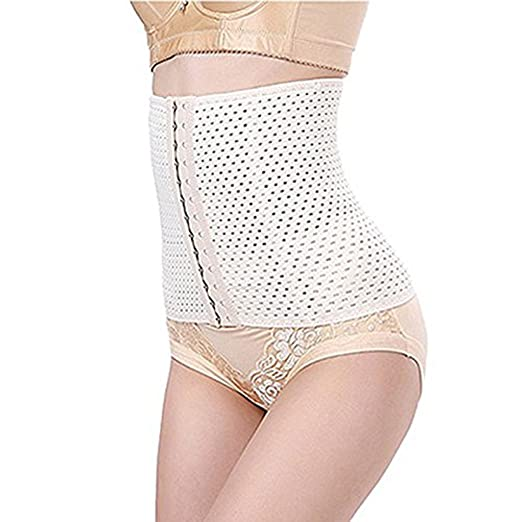 706a14d22f8 XUAN XIANG Breathable Cummerbund Slimming Belt Women Body Shaper Corset  Waist Trainer Slim Underwear Waist Cincher