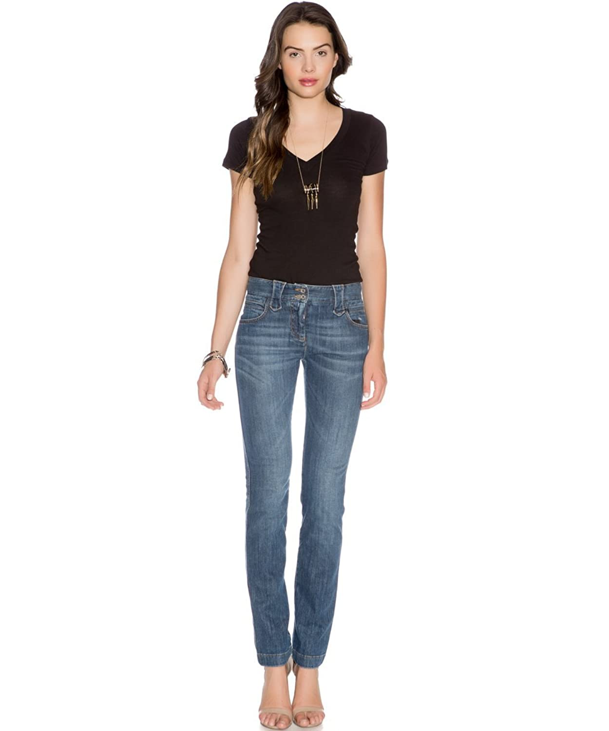 Dolce and Gabbana Women's Western Inspired Blue Jeans