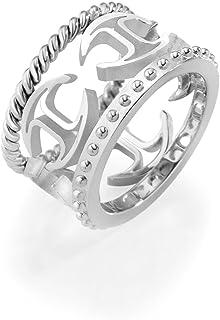 Just Cavalli FASHIONRING - Anello, acciaio inossidabile, misura 58 (18.5) SCAGE06018_-18