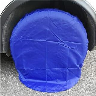 Copri-gomme per Auto Protezione Solare Oxford Spare Universale Parapolvere Nero 82cm (4 Pezzi/Set), Blu 82cm (4 Pezzi/Set) (Size : Black 82cm (4 Pieces/Set))