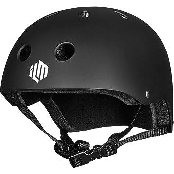 Amazon.com: ILM CPSC - Casco de skate con ventilación de ...