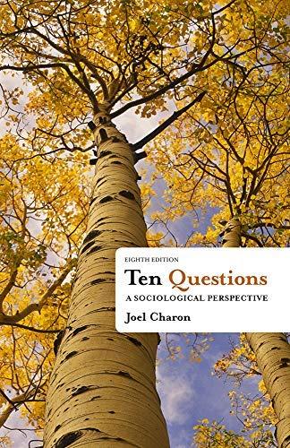 Ten Questions By Charon Joel M