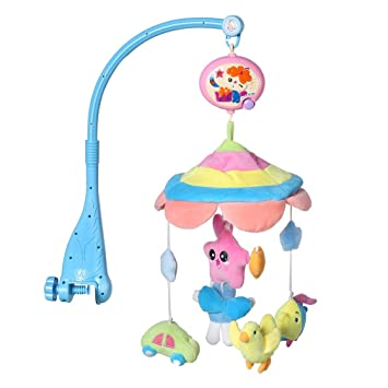 Baby Cribs United Free Shipping Musical Baby Crib Attachment Toy Activity Learning Table 2 In 1 Baby Bed Hanging Toys Soothe And Flashing Light Mother & Kids