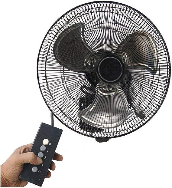 Wall-mounted fan ALY® Ventilador De Pared De Metal, Oscilante, 18 ...