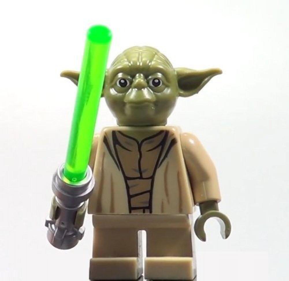 amazon com lego yoda star wars minifigure yoda chronicles clone