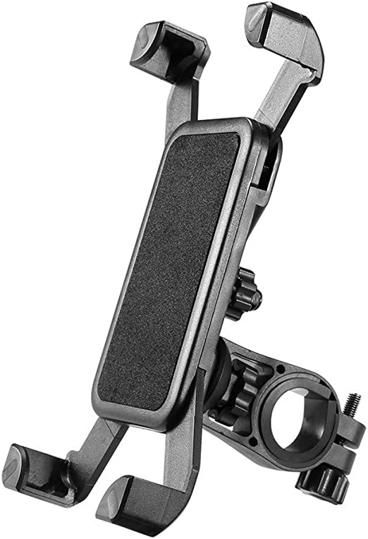 Universal Adjustable Bicycle Handlebar Cell Phone Holder Premium Bike Phone Mount for Motorcycle