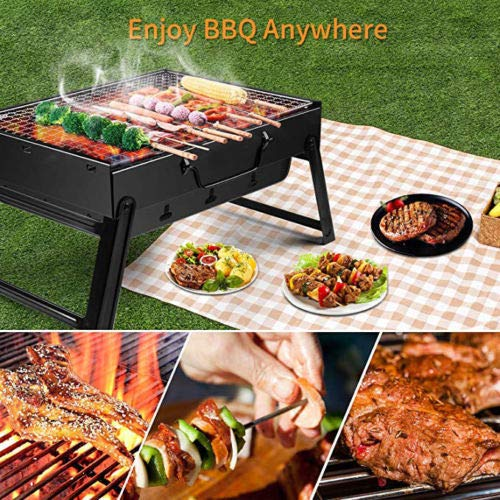 Portable Durable Folding BBQ Barbecue Stove Modern Charcoal Grill Picnic Camping Outdoor Garden
