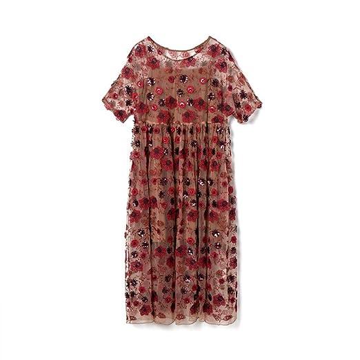 Vestido De Verano Francés Romántico For Mujer Trabajo Pesado ...