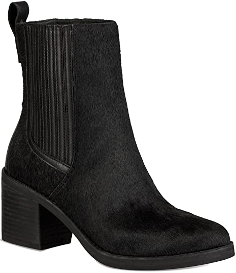 1ef2373403a UGG Womens Camden Exotic Chelsea Boot Black Size 10: Amazon.ca ...