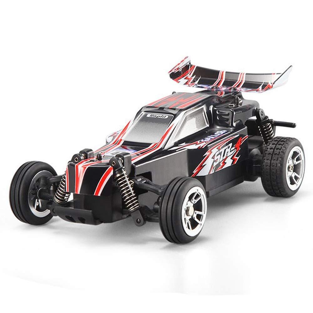 Pinjeer 1:24高速25キロメートル/ h電動二輪駆動リモートコントロールオフロード車2.4グラムリモートコントロール砂漠のおもちゃの車誕生日プレゼント用キッズ8+ B07R9SFBTD