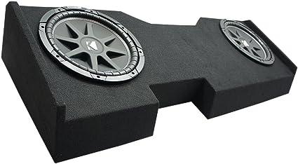 "2014 UP GMC Sierra Crew Cab Truck Dual 10/"" Sub Box Subwoofer Enclosure"
