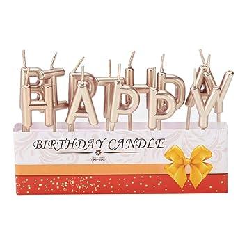 Amazon.com: Zehui Trade - Letras de feliz cumpleaños para ...