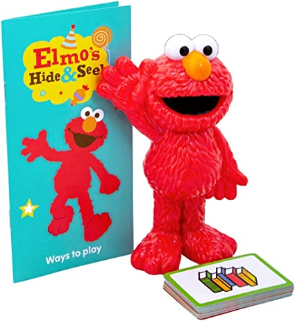 Sesame Street Elmo S World Hide And Seek Game 50 Year Anniversary Edition For Toddlers To Learn And Develop