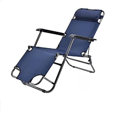 ZLJTYN Lounge Chairs, DECK Chairs, Outdoor Patio Chaise Lounge Chair Folding Recline Medium,C,2 PACK