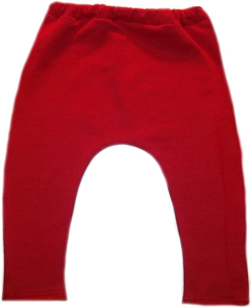 0-3 Months Jacquis Baby Girls Red Leggings