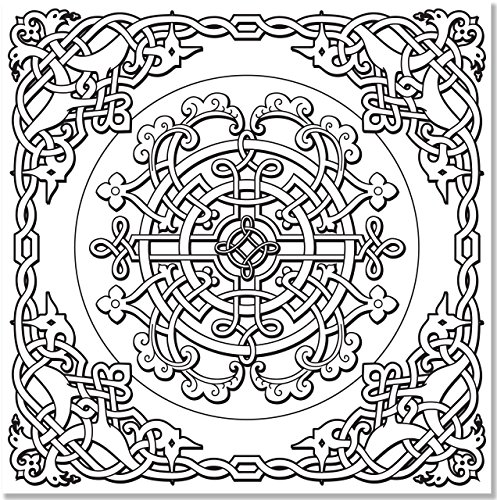 Celtic Designs Adult Coloring Book 31 Stress Relieving