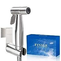 Deals on FINIGE Handheld Bidet Sprayer Kit Toilet Cloth Diaper Sprayer