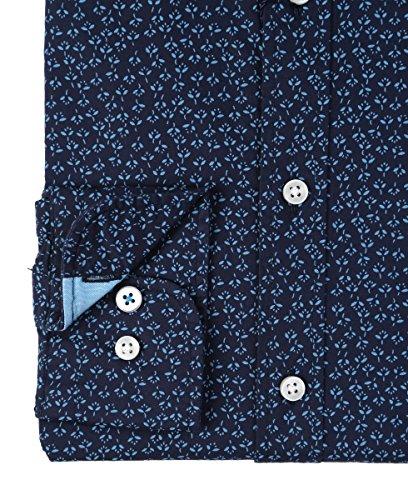 FYNCH-HATTON - Chemise casual - Avec boutons - Imprimé Cachemire - Col Boutonné - Homme