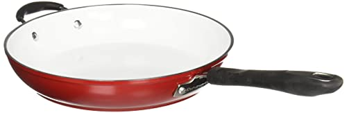 Cuisinart 5922-30HR Elements Open Skillet With Helper Handle - Red